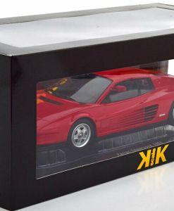 Modellino Ferrari 1 18 Testarossa Monospecchio KK scatola