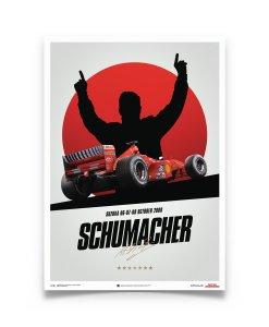 Poster Michael Schumacher Japan Suzuka GP 2000 50x70cm 5