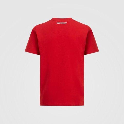 T shirt Bambino Scuderia Ferrari Grafica F1 retro