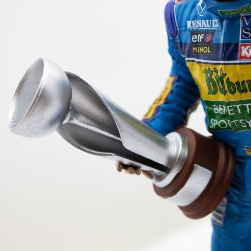 Michael Schumacher Figure Second F1 World Championship 1995 110 DETTAGLIO