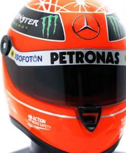 Michael Schumacher Final Helmet GP Formel 1 2012 14 7