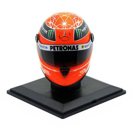Michael Schumacher Final Helmet GP Formel 1 2012 14 9