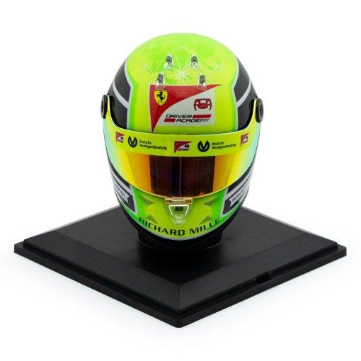 Mick Schumacher miniature helmet 2020 14 frontale