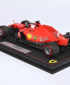 Modellino F1 BBR Models 118 Ferrari SF1000 2020 Sebastian Vettel Austrian GP Special Box Limited Ed retro