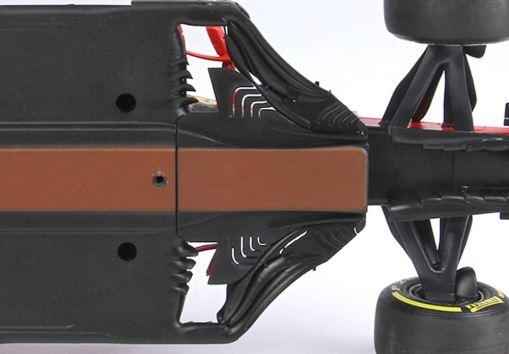Modellino F1 BBR Models 118 Ferrari Sf1000 Charles Leclerc 2020 Red Bull ring fondo