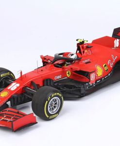 Modellino F1 BBR Models 118 Ferrari Sf1000 Charles Leclerc 2020 Red Bull ring fronte