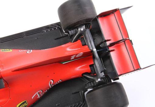 Modellino F1 BBR Models 118 Ferrari Sf1000 Charles Leclerc 2020 Red Bull ring retro