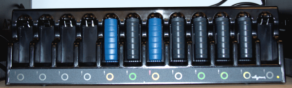A700 12 Bay Battery Charger