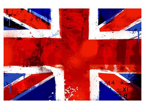 England FlaggeBild im Used Look bei myposter bestellen