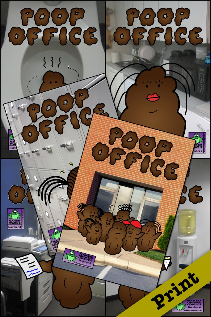 Poop Office #1-6 Bundle (Print)