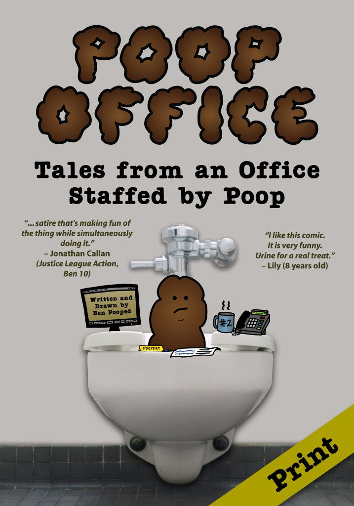 Poop Office Collected Edition – Signed or Personalized
