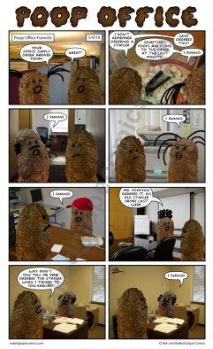 poster-poop-office-fumetti