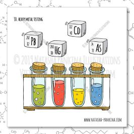 description: Hand Drawn Illustration of Heavy Metals Testing keywords: bag, ban, cannabidiol, cannabis, cartoon, cbd, cbd oil, chemical formula, chemistry, design, design element, doodle, flat, freehand drawing, graphic, hand, hand drawn, icon collection, icon set, illustration, isolated, joint, laboratory, laboratory equipment, leaf, legal concept, legalization, lighter, marijuana, marijuana leaf, marijuana plant, medical marijuana, molecule, object, outlined, packaging, pipe, set, sign, sketch, smoke, speech bubbles, steam, stop, symbol, syringe, tube, vector, vector elements, weed, analysis, laboratory, lab, cannabinoids, testing, moisture content, residual solvents, processing chemicals, pesticides, microbial impurities, homogeneity, edible, cannabis products, foreign material, terpenoids, mycotoxins, heavy metals, water activity, solid, semi-solid edibles, THC, delta-9 THC, CBD, natasha pankina illustrator: Natasha Pankina Natasha Pankinahttps://store.natasha-pankina.com/copyright-notice-per-image-metadata/