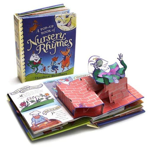 Pop-up Book of Nursery Rhymes by Matthew Reinhart