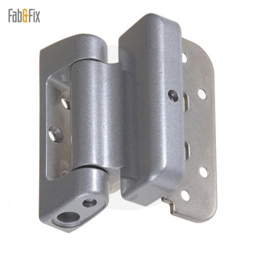 Fab  Fix Haven Heavy Duty 2D Adjustable Door Hinge Door Stop Hinge