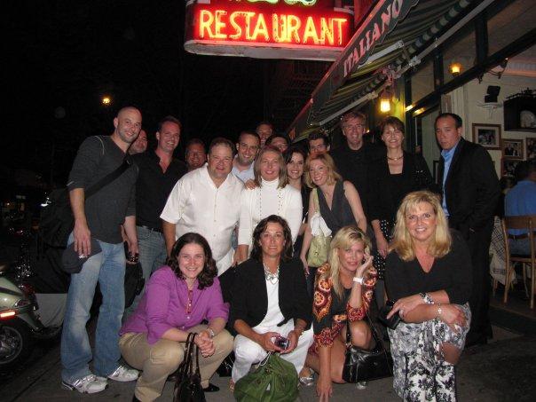 From circa 2009, Lucky Strikes Social Media Club, NYC