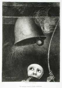 A Mask Sounds the Death Knell, to Edgar Poe 1882
