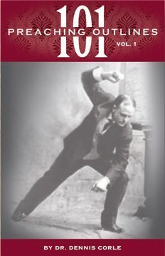 101 Preaching Outlines - Volume 1