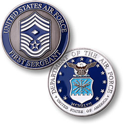 First Sergeant Air Force Coin