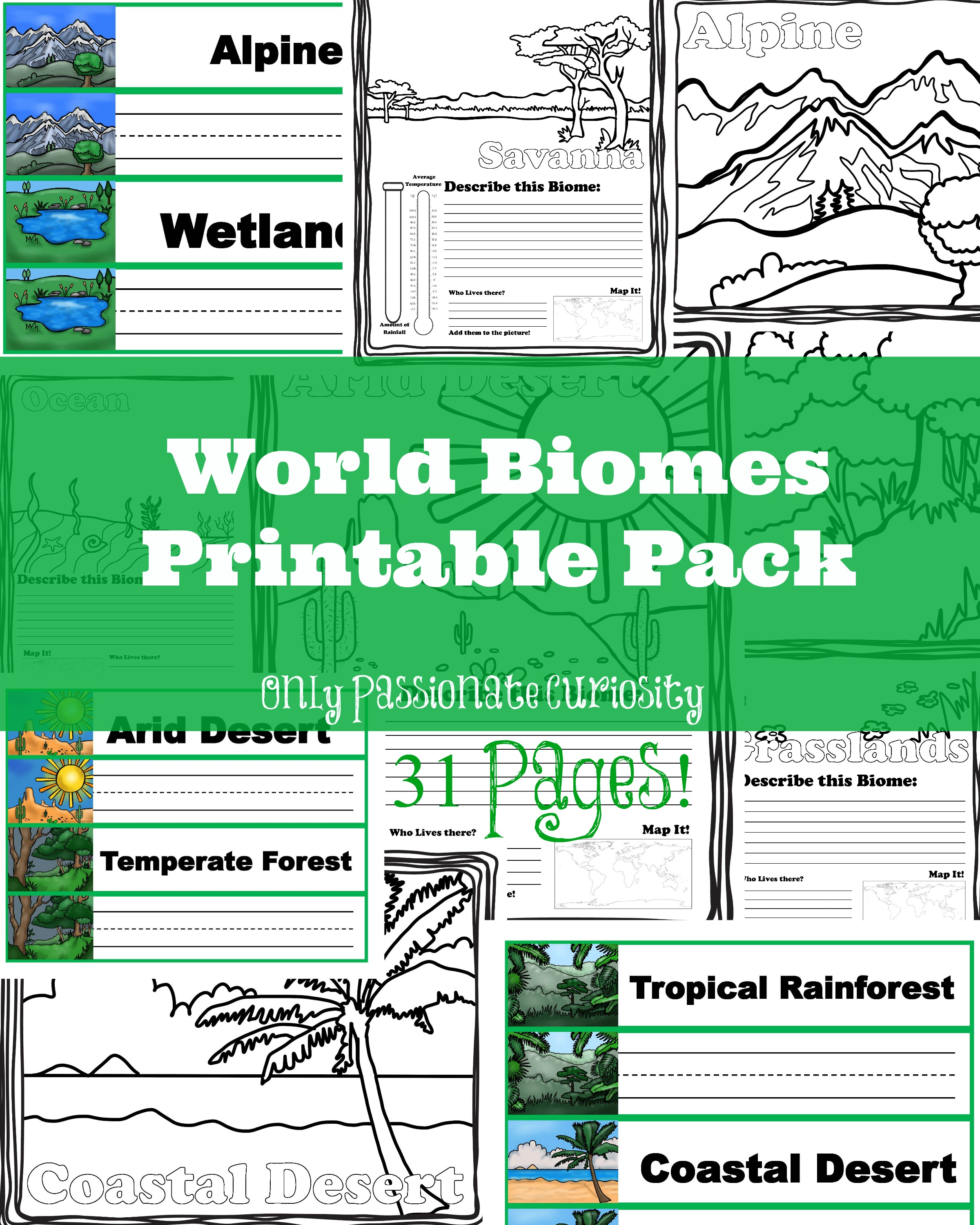 World Biomes Pack