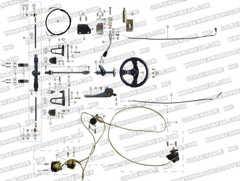 medium resolution of gk06 rh roketa com 150cc scooter engine diagram 150cc engine wiring diagram