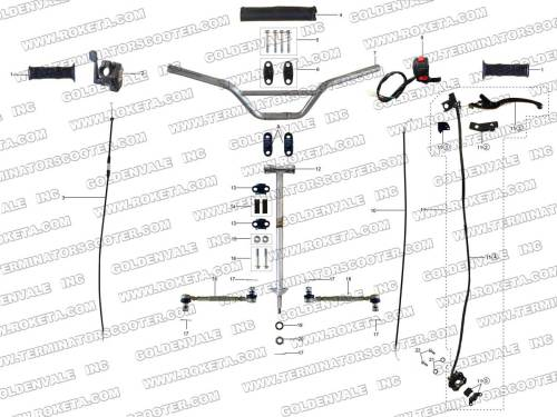 small resolution of steering assembly 6