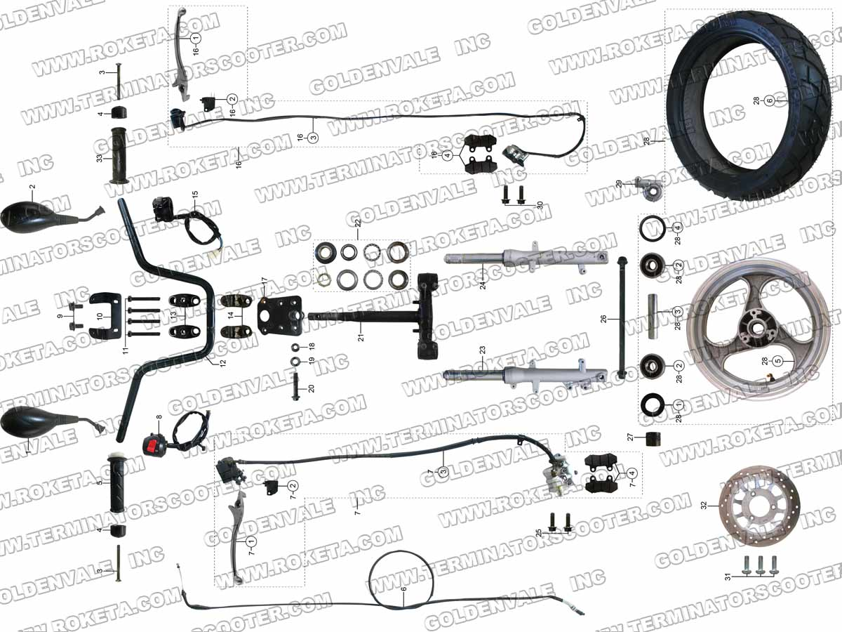 hight resolution of steering assembly 5