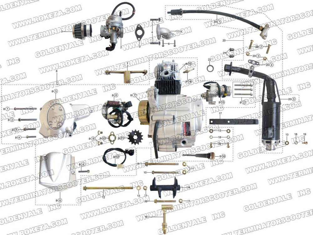 medium resolution of roketa atv wiring schematic roketa free engine image for roketa 250cc wiring diagram roketa wiring diagram