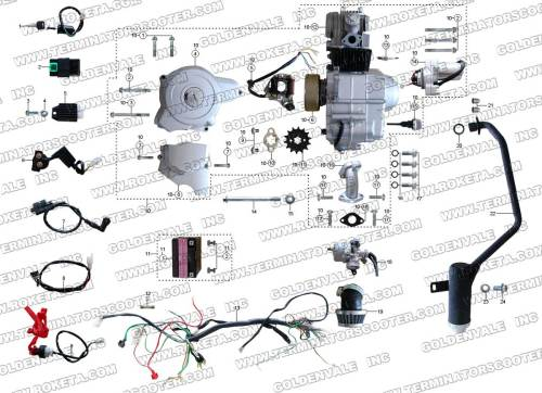 small resolution of 70cc atv wiring diagram