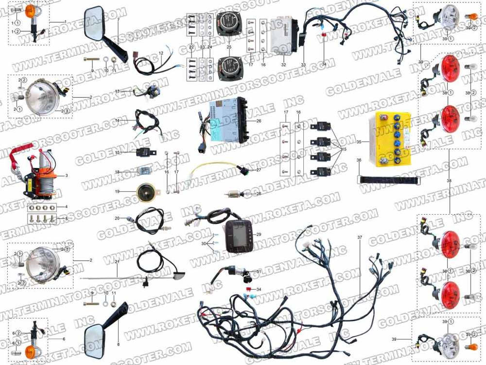 medium resolution of gk 01 roketa wiring diagram gk free engine image for roketa atv wiring diagram roketa scooter