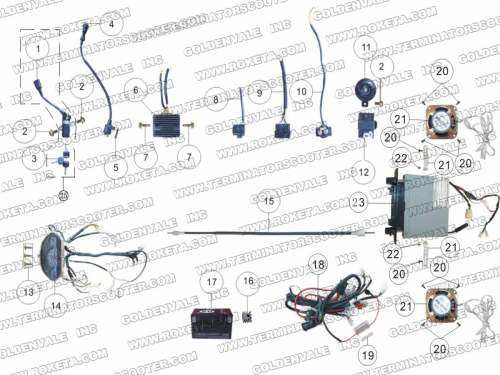 small resolution of coolster 125cc pit bike wire diagram coolster 125cc dirt bike engine diagram terminator scooter wiring diagram