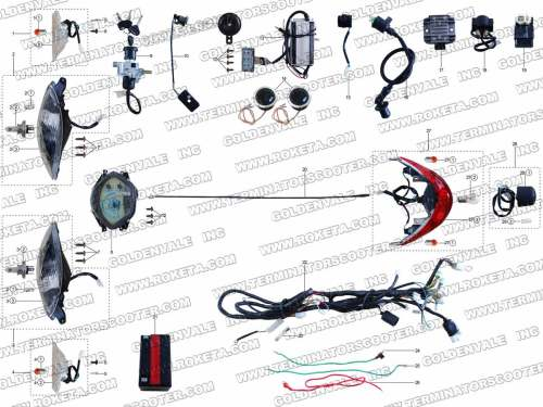 small resolution of terminator scooter wiring diagram terminator es 04 scooter 43cc gas scooter wiring diagram terminator electric scooter