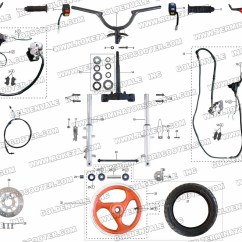 49cc Scooter Wiring Diagram 3 Way Switch Variation Pocket Bike Auto