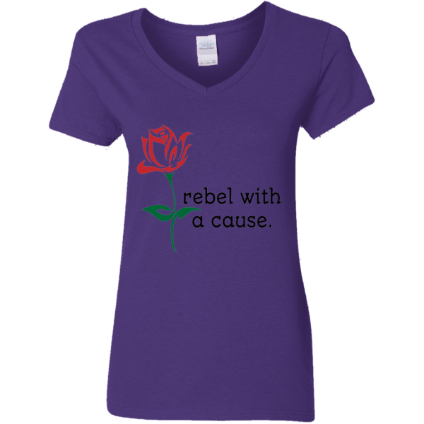 Rebel V-Neck T-Shirt