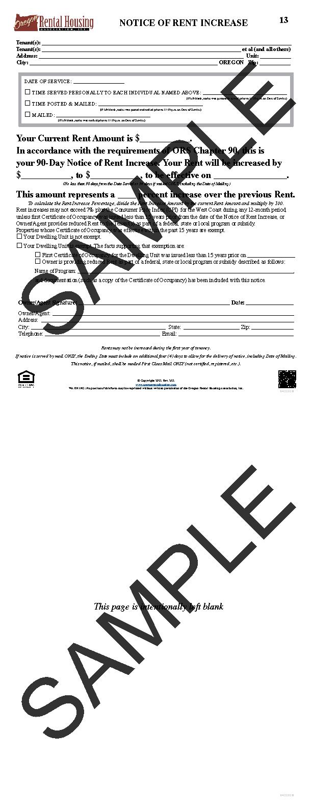 Oregon Rental Housing Association - Choose Your Form