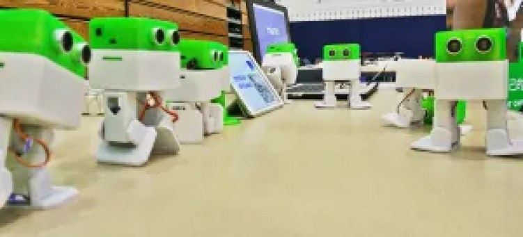 Otto robots education in the classroom