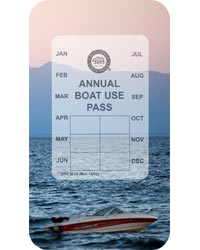 Annual Boat Use Pass
