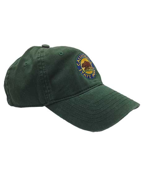California State Parks Embroidered Baseball Hat, Forest