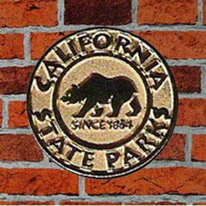 California State Parks Gold Lapel Pin-0