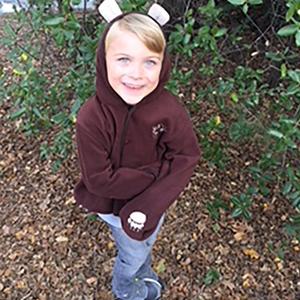 California State Parks Youth Bear Fleece Jacket