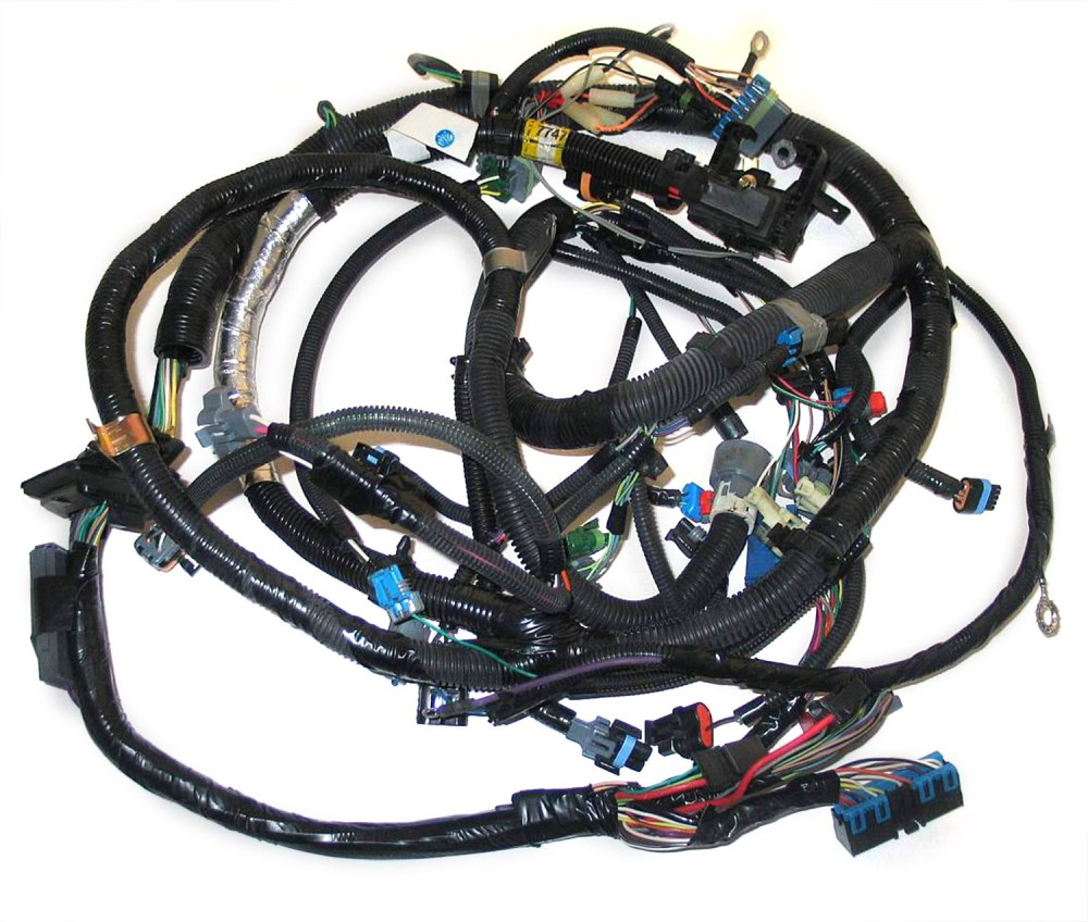 medium resolution of 12167747 oem tbi engine wire harness for 5 0l 305 5 7l 350 gm rh store partshighway com gm tbi wiring harness chevy tbi system