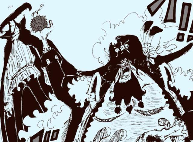 海賊王:黑鬍子或許已拿走喬茲的果實,奎因曾把福茲·弗弄毀容了