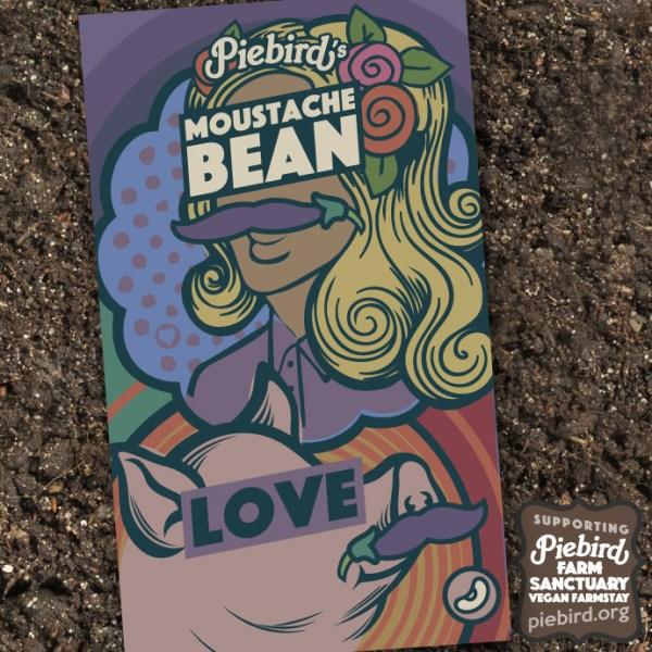 Moustache Bean - heirloom seeds