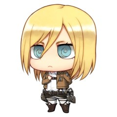 attack on titan christa