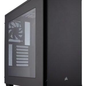 caja  atx semitorre corsair carbide 270r  negra ventana  cc-9011105-ww