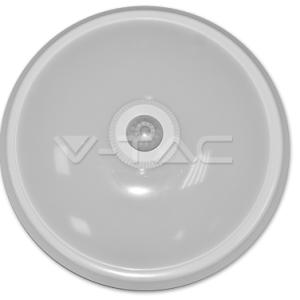 plafon led techo v-tac 12w luz fria 800lm con sensor movimiento ir l5059