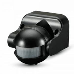 detector presencia iluminacion led ir pir vtac 180  max300w negro l5077