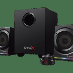 altavoces  creative  sound blasterx kratos s5 2.1 rgb jack negro ene