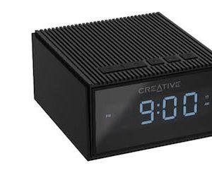 altavoces  creative  chrono negro portatil bt radio fm despertador ipx5 pl