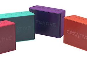 altavoces  creative  muvo 2c rosa bluetooth mp3 bateria resist al agua